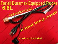 Duramax Block Heater Cord 6.6L Diesel 2001-2018 Chevy Duramax Engine Heater Cord
