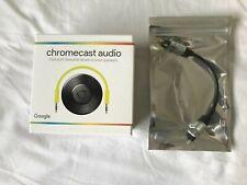 Neues AngebotGoogle Chromecast Audio 2nd Gen Media Streamer (schwarz) + Qualität TOS Link Kabel