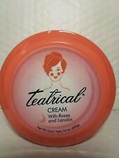 TEATRICAL CREAM WITH ROSES AND LANOLIN NET WT 14 OZ  (400GR) JUMBO SIZE  11/2018