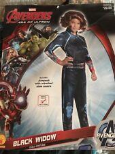 Avengers Age of Ultron Black Widow costume girls small (4-6) Rubies 610443 NWT