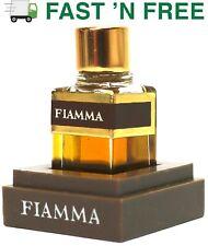 Vtg. Princess Marcella Borghese Fiamma New 2 cc Perfume Tester bottle w/ Base