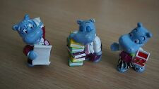 Kinderüberraschung Ü-Ei Happy Hippo Figuren