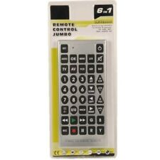 6 In 1 JUMBO SIZED UNIVERSAL REMOTE CONTROL