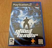 Ghost hunter for Sony Playstation 2 PS2 UK PAL Region 2