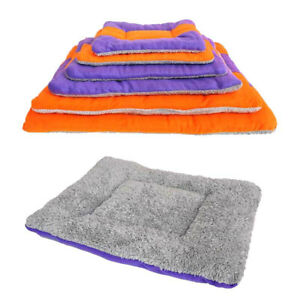 Pet Blanket  Fluffy & Soft Rug  Washable Pet Sleeping Bed Large Warm Mat Cushion