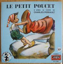 GERMAINE BOURET Le petit Poucet Ch Perrault Livre Disque Petit Pingouin Vogue