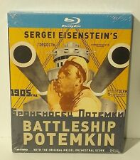 Battleship Potemkin (Blu-ray Disc, 2010) NEW & SEALED Kino Sergei Eisenstein's