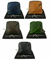 Womens Italian Vintage Leather Crossbody Handbag, Small Shoulder Bag, 7 Colours
