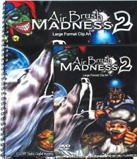 AIR BRUSH MADNESS 2, XTREME GRAPHICS LARGE FORMAT CLIP ART PRINTS VINYL SIGNS