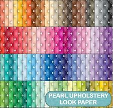 QUILTED PEARL LOOK  SCRAPBOOK PAPER - 100 A4 PAGES