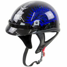 """Rebel Helmet """"Blue Wave"""" NEW IN BOX w/TAGS DOT APPROVED Size XL extra-large"""