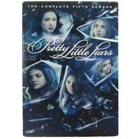 Pretty Little Liars: The Complete Fifth Season 5 (6-Disc DVD Set, 2015) w/ Cover