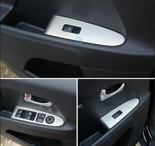 4PCS stainless Interior window switch cover Tirm for Kia Sportage R 2011-2015