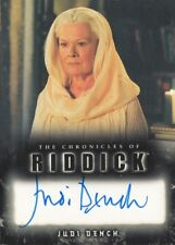 The Chronicles Of Riddick - Judi Dench (Aereon) Autograph Card