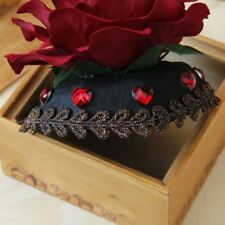 Womens Princess Tiaras Vintage Gothic Party Mini Fascinator Hat Flower Hair Clip