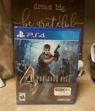 Resident Evil 4 Game Sony Playstation 4 PS4 BRAND NEW FACTORY SEALED RE4 HD