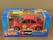 [PL3-10] BBURAGO BURAGO 1/43 STREET FIRE #41601 VOLKSWAGEN NEW BEETLE CUP NIB