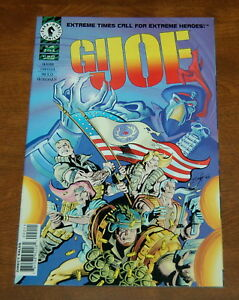 G.I. Joe Comic Book Vol 2 #1 Dark Horse 1996 NEAR MINT NEW UNREAD