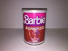Barbie Puzzle Can 81 Pieces Vintage 1975 Complete