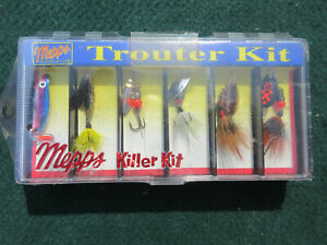 Mepps lures,Meps Killer Kit Trouter,Bass Lures,Crappie Lures,Trout Lures