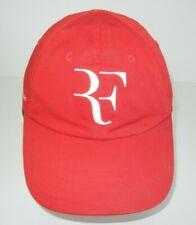 Nike ROGER FEDERER FOUNDATION Bright Red/White TENNIS HAT Court Baseball Gym Cap