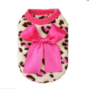 Small Yorkie Dog Outfit Puppy Clothes Cat Sweater for Maltese Size XXXS/XXS/XS
