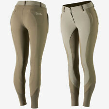 Horze Kiana Water and Dust Repellent Women's Knee Patch Riding Breeches