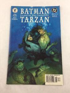 DC Batman : Claws of the Catwoman Tarzan Part #4 of 4 1999 Dark Horse Comic Book