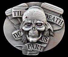 Skull Head Bullet Hole Ghost Pirate Skeleton Belt Buckles Boucle de Ceinture