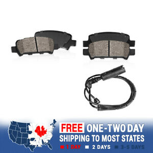 Rear Ceramic Brake Pads For Mercedes Benz CL500 S430 S500 S350 W220 RWD