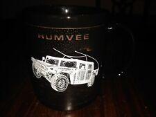 Humvee Blackbird Cup Mug in Black White New