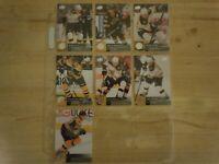 2009-10 Upper Deck Series 2 - BOSTON BRUINS Team Set - 7 Hockey Cards