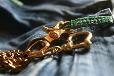 EDC Solid Brass Trigger Swivel Snap Hook Clip Wallet Chain