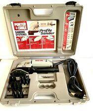 Porter Cable Profile Sander  444 VS  Accessories & Case