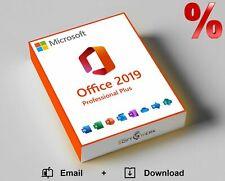 Microsoft Office 2019 Pro Plus Vollversion 32/64-bit ESD Lizenz Key Email