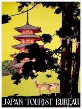 "Japan Travel Art Poster Japanese Print 12x16"" Rare Hot New XR131"