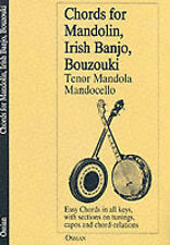 Chords for Mandolin, Irish Banjo, Bouzouki, Tenor Mandola, Mandocello (Music Sal