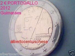 2 euro 2012 fdc Portogallo Portugal Guimares Guimaraes capitale europea cultural