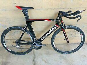 Cervelo P2 TT/Tri Bike (56cm) Large, Full Shimano Dura Ace