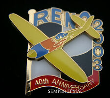 2003 RENO 40TH ANNIVERSARY PIN MS MERCED NATIONAL CHAMPIONSHIP STEAD AIR RACE