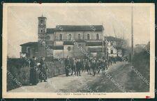 Cuneo Saluzzo San Bernardino cartolina QK9166