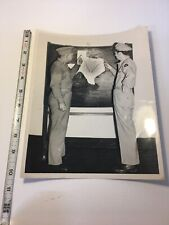 Official Photograph, AAF Brooksfield 1947 Military- West Texas