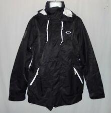Mens Oakley Ascertain Snow Jacket Size L Black Snowboard