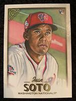 Juan Soto 2018 Topps Gallery Baseball Rookie Rc #126 Mint Washington Nationals