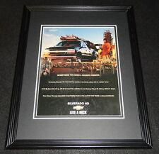 2001 Chevrolet Silverado Framed 11x14 ORIGINAL Advertisement