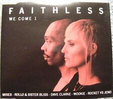 Faithless / We Come 1 – Single Maxi Pop CD 2001