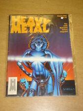 HEAVY METAL 1984 AUG FN- HM COMMS US MAGAZINE