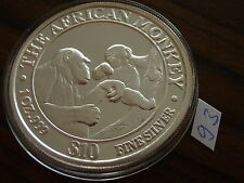 Afrika Somalia 10 $ Affe 1 oz Silber Africa Wildlife silver monkey Somali