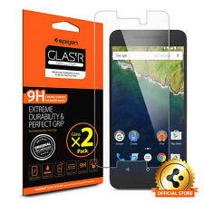 Spigen® For Google Nexus 6P [GLAS.tR SLIM] Tempered Glass Screen Protector [2PK]
