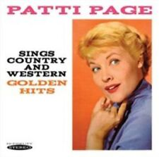 Sings Country and Western Golden Hits 5055122111986 by Patti Page CD